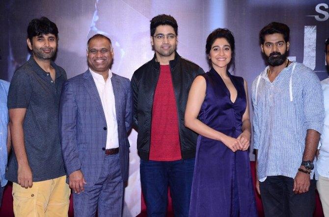 Regina Cassandra 4  starrer Evaru Telugu Movie Press Meet  11